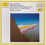 SCHUBERT - Kempff - Fantaisie pour piano op.15 en do majeur D.760 'Wande