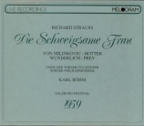 STRAUSS - Böhm - Die schweigsame Frau (La femme silencieuse), opéra op.8 live Salzbourg 1959