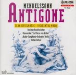 MENDELSSOHN-BARTHOLDY - Soltesz - Antigone, musique de scène pour narrat