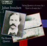 SVENDSEN - Kontra Quartet - Quatuor à cordes op.1