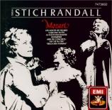 MOZART - Stich-Randall - Airs d'opéras