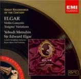 ELGAR - Menuhin - Concerto pour violon en si mineur op.61