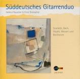 BACH - Süddeutsches Gi - Suite pour clavier en la mineur BWV.818 Arr. deux guitares