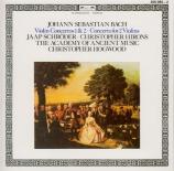 BACH - Schröder - Concerto pour violon en la mineur BWV.1041