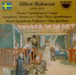 RUBENSON - Goodman - Symphonie en do majeur