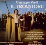 VERDI - Bartoletti - Il trovatore, opéra en quatre actes (version origin