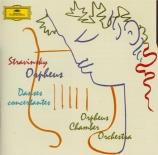 STRAVINSKY - Orpheus Chamber - Orphée, ballet en 3 scènes, pour orchestr