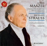 STRAUSS - Maazel - Eine Alpensinfonie, pour grand orchestre op.64