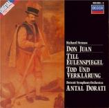 STRAUSS - Dorati - Don Juan, pour grand orchestre op.20