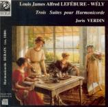 LEFEBURE-WELY - Verdin - Trois suites pour harmonicorde
