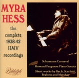 The 1938-42 HMV Recordings