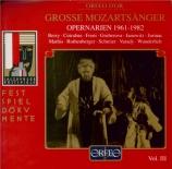 Grosse Mozartsänger : Airs d'operas 1961-1982