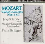 MOZART - Schröder - Concerto pour violon n°1 K.207