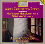 CASTELNUOVO-TEDESCO - Ciccolini - Piedigrotta, op.32