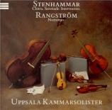STENHAMMAR - Uppsala Chamber - Chitra op.43