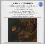 SVENDSEN - Andersen - Concerto pour violon op.6
