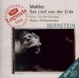 MAHLER - Bernstein - Das Lied von der Erde (Le chant de la terre), pour