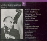 L'Art de Louis Kaufman Vol.1