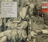 SCHÜTZ - Knothe - Schwanengesang (Chant du cygne), 13 concerts sacrés po