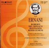 VERDI - Previtali - Ernani (live Napoli 1960) live Napoli 1960