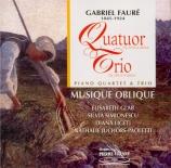 FAURE - Ensemble Musiqu - Quatuor avec piano n°1 en ut mineur op.15
