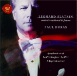 DUKAS - Slatkin - Symphonie en ut majeur