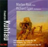 KUHLAU - Root - Grande sonate concertante, pour flûte et piano op.85
