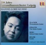 STRAUSS - Kuhse - Vier letzte Lieder (Quatre derniers lieder), pour sopr
