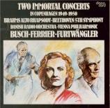 Two Immortal Concerts Live Copenhagen 6/10/1949 & 1/10/1950