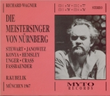 WAGNER - Kubelik - Die Meistersinger von Nürnberg (Les maîtres chanteurs