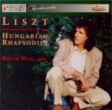 LISZT - De Waal - Rhapsodie hongroise n°9, pour piano S.244 - 9 'Pesther C