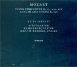 MOZART - Jarrett - Concerto pour piano et orchestre n°20 en ré mineur K