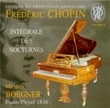 Intégrale des Noctunes Piano Ignace Pleyel 1836