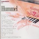 HUMMEL - Galling - Concerto pour piano n°2 en la mineur op.85