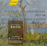 BACH - Rilling - Schleicht, spielende Wellen, cantate pour solistes, chœ