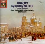 BALAKIREV - Järvi - Symphonie n°1