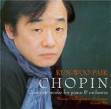 CHOPIN - Paik - Concerto pour piano et orchestre n°1 en mi mineur op.11