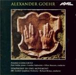 GOEHR - Berneas - Concerto pour piano op.33