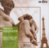 French saxophone : Musique du 20ème siècle pour saxophone
