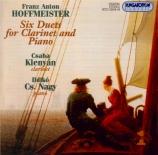 HOFFMEISTER - Klenyan - Duo pour clarinette et piano n°1 en la majeur