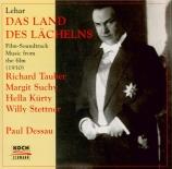 LEHAR - Dessau - Pays du Sourire (Le) : extraits