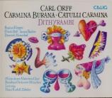 ORFF - Zöbeley - Carmina Burana