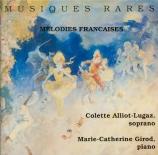Mélodies françaises rares