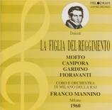 DONIZETTI - Mannino - La figlia del reggimento (La fille du régiment) Live Milano, 2 - 12 - 1960