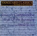 CANTELOUBE DE MALARET - Davrath - Chants d'Auvergne