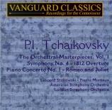 TCHAIKOVSKY - Stokowski - Ouverture pour orchestre en mi bémol majeur op
