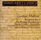 MAHLER - Abravanel - Symphonie n°1 'Titan'