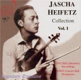 The Jascha Heifetz Collection Vol.1
