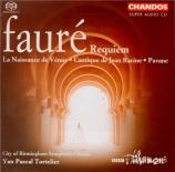 FAURE - Tortelier - Requiem pour voix, orgue et orchestre en ré mineur o