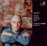 MOZART - Staier - Suite pour piano en do majeur K.399 (K6.385i) (fragmen